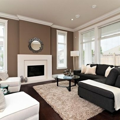 10 Creative Methods To Decorate Along With Brown | Brown Accent Throughout Brown Wall Accents (Image 1 of 15)