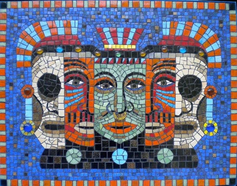 10 Must Know Ethnic Mosaic Artworks | Abstract Portrait, Mosaics With Regard To Abstract Mosaic Wall Art (Image 1 of 15)