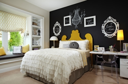 10 Stunning Ways To Accent A Bedroom Wall Intended For Wall Accents Behind Bed (Image 1 of 15)