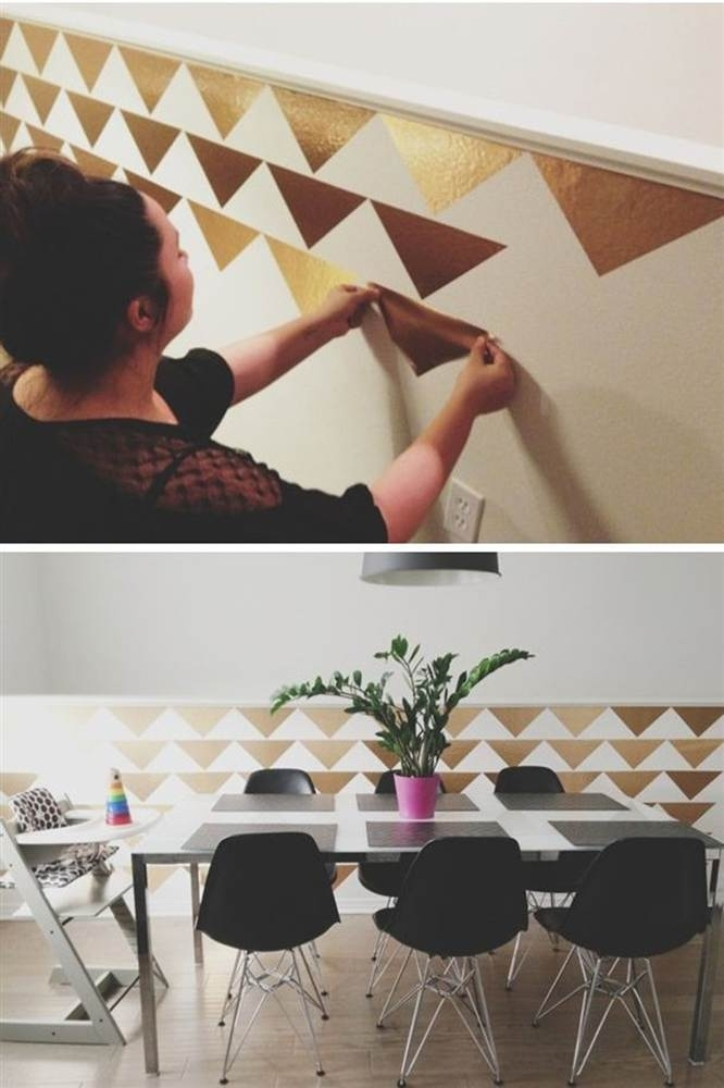 10 Ways To Transform Your Walls Without Paint | Picture Story with Wall Accents Without Paint