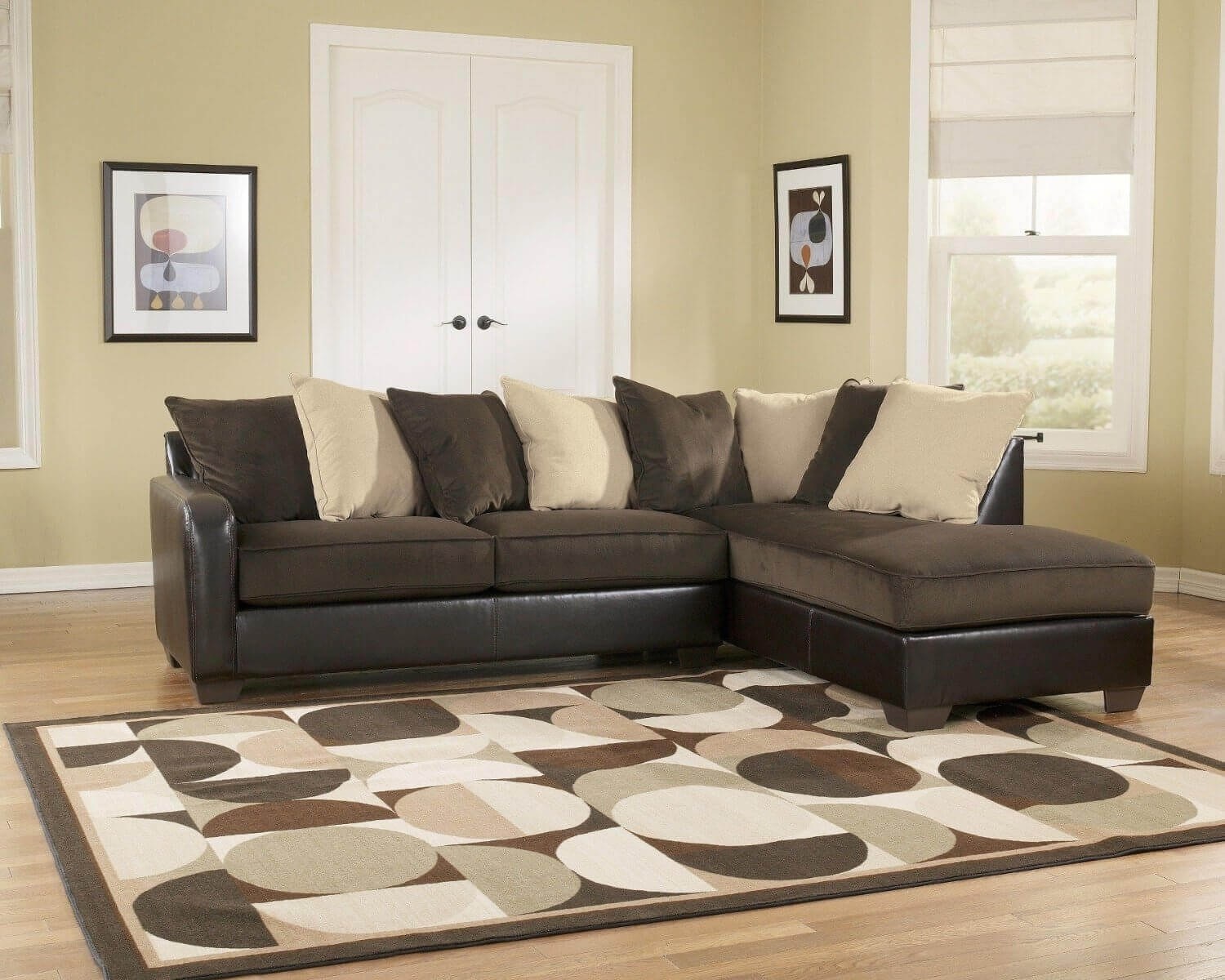 100 Awesome Sectional Sofas Under $1,000 (2018) Inside Chocolate Brown Sectional Sofas (Image 1 of 10)