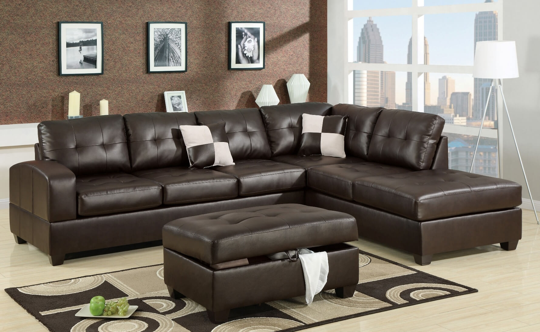 100 Awesome Sectional Sofas Under $1,000 (2018) Inside Sectional Sofas Under  (Image 1 of 10)