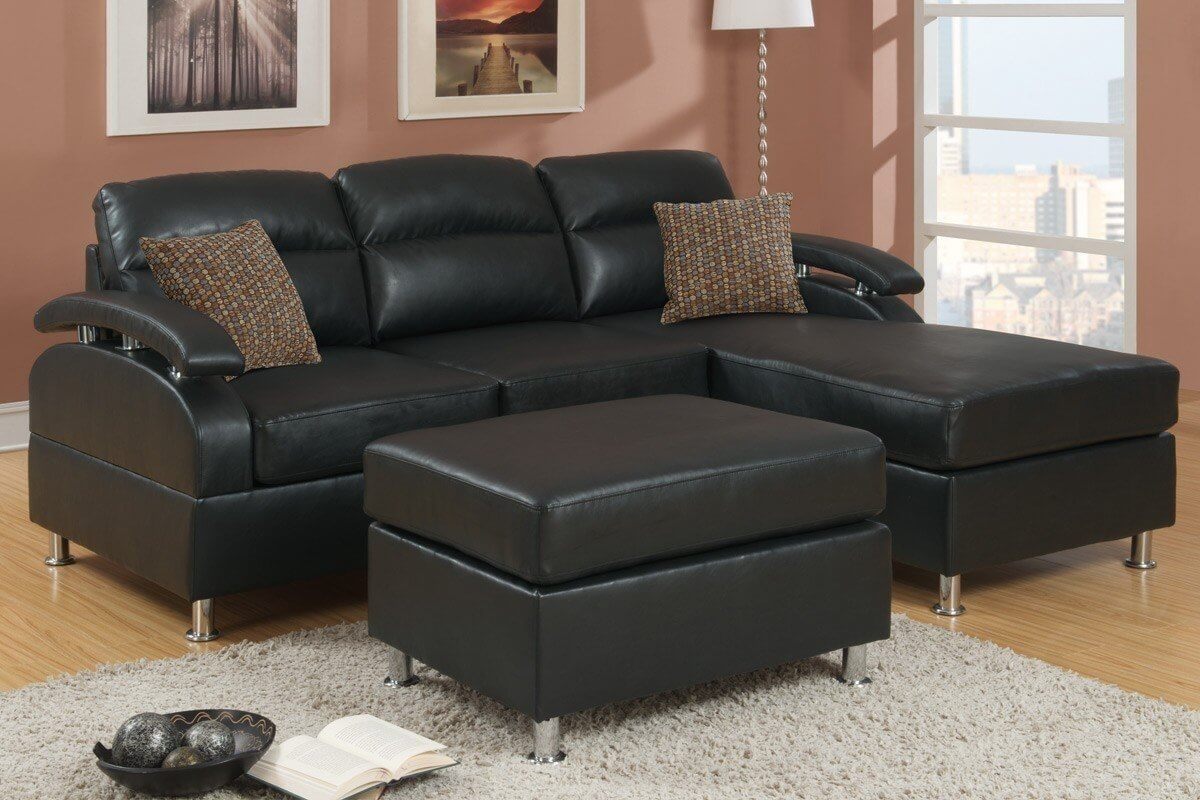 100 Awesome Sectional Sofas Under $1,000 (2018) intended for Leather Sectional Sofas With Ottoman