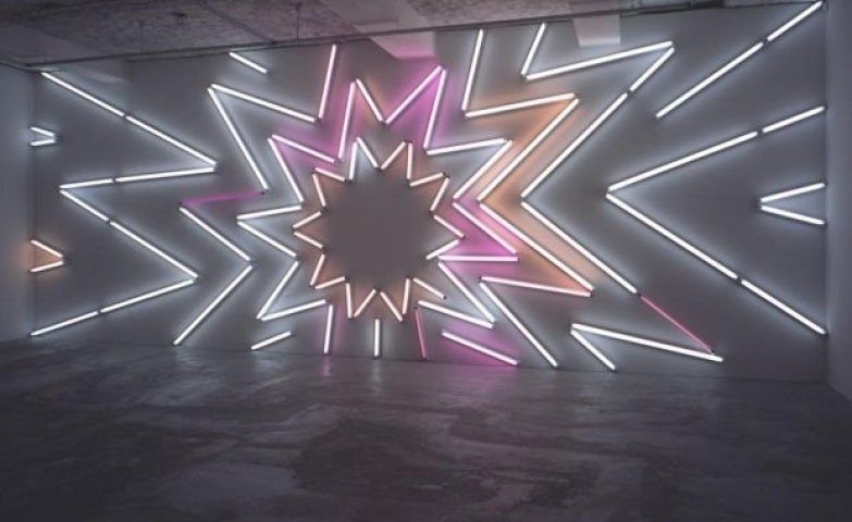 100+ Creative Neon Signs & Ads Regarding Abstract Neon Wall Art (Image 1 of 15)
