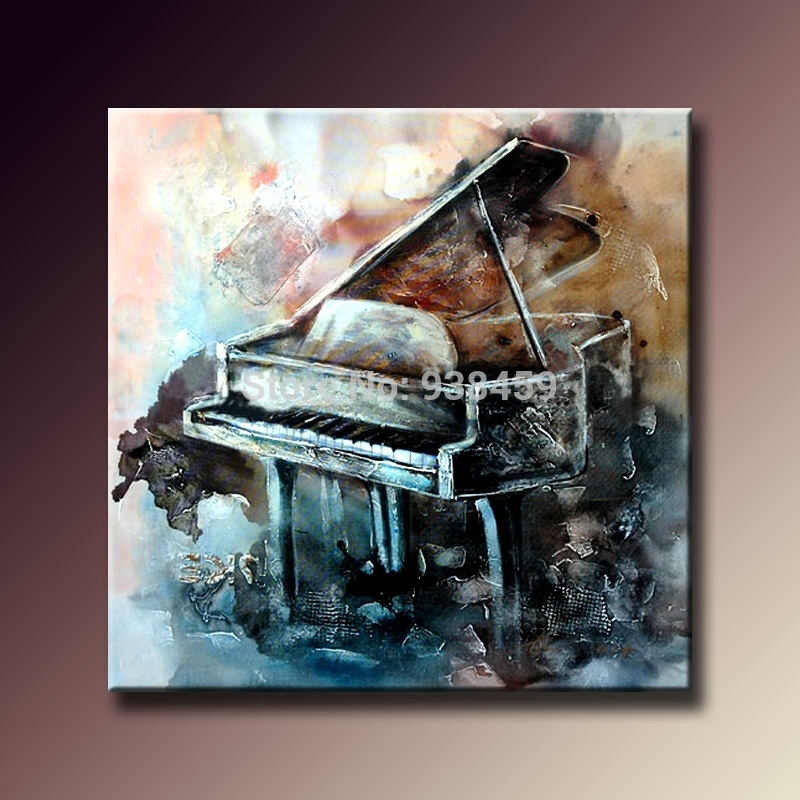Featured Image of Abstract Piano Wall Art