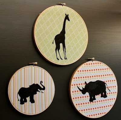 101 Best Applefest Craft Ideas Images On Pinterest | Silhouettes Within Fabric Animal Silhouette Wall Art (View 7 of 15)