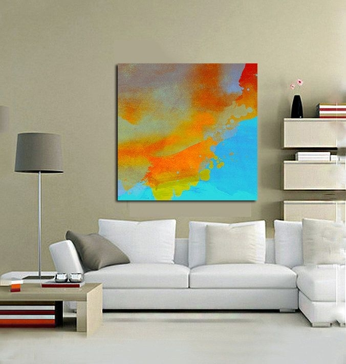 102 Best Half Baked Art (Abstracts) Images On Pinterest | Extra Pertaining To Abstract Oversized Canvas Wall Art (View 14 of 15)