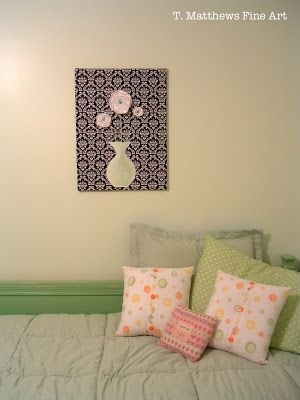 102 Best Wall Art Sewing Patterns Images On Pinterest | Art Crafts In Fabric Wall Art Patterns (View 9 of 15)