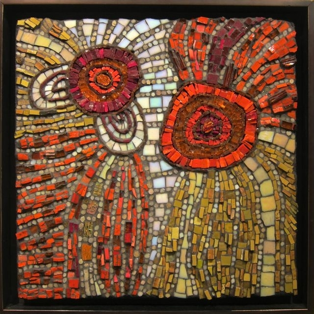 1053 Best Mosaic Abstract Images On Pinterest | Mosaic Art, Mosaic Pertaining To Abstract Mosaic Wall Art (Image 2 of 15)