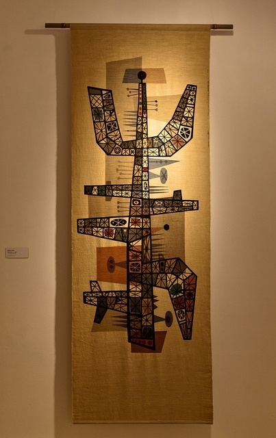 11 Best Barney Reid Images On Pinterest | Mid Century Art In Mid Century Textile Wall Art (Image 1 of 15)