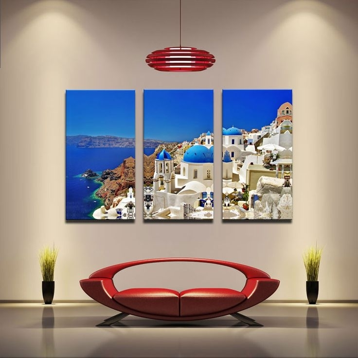 11 Best Quadros Images On Pinterest | Frames, Canvas Prints And Pertaining To Greece Canvas Wall Art (View 5 of 15)