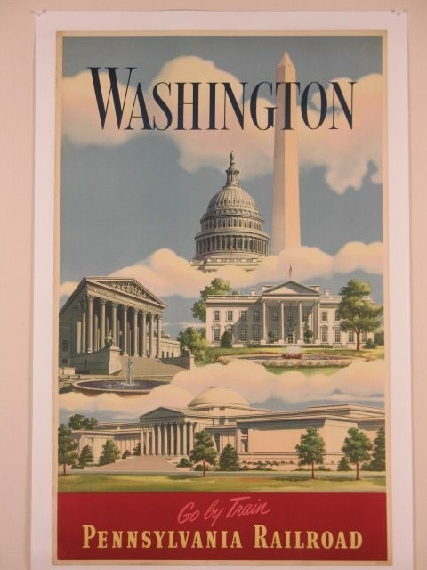 111 Best Us Travel Posters – Places We've Been Images On Pinterest Regarding Washington Dc Framed Art Prints (View 11 of 15)