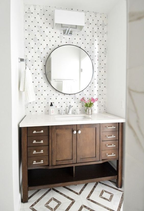 1138 Best Bath Dept. Images On Pinterest | Bathroom, Dream regarding Wall Accents For Bathrooms