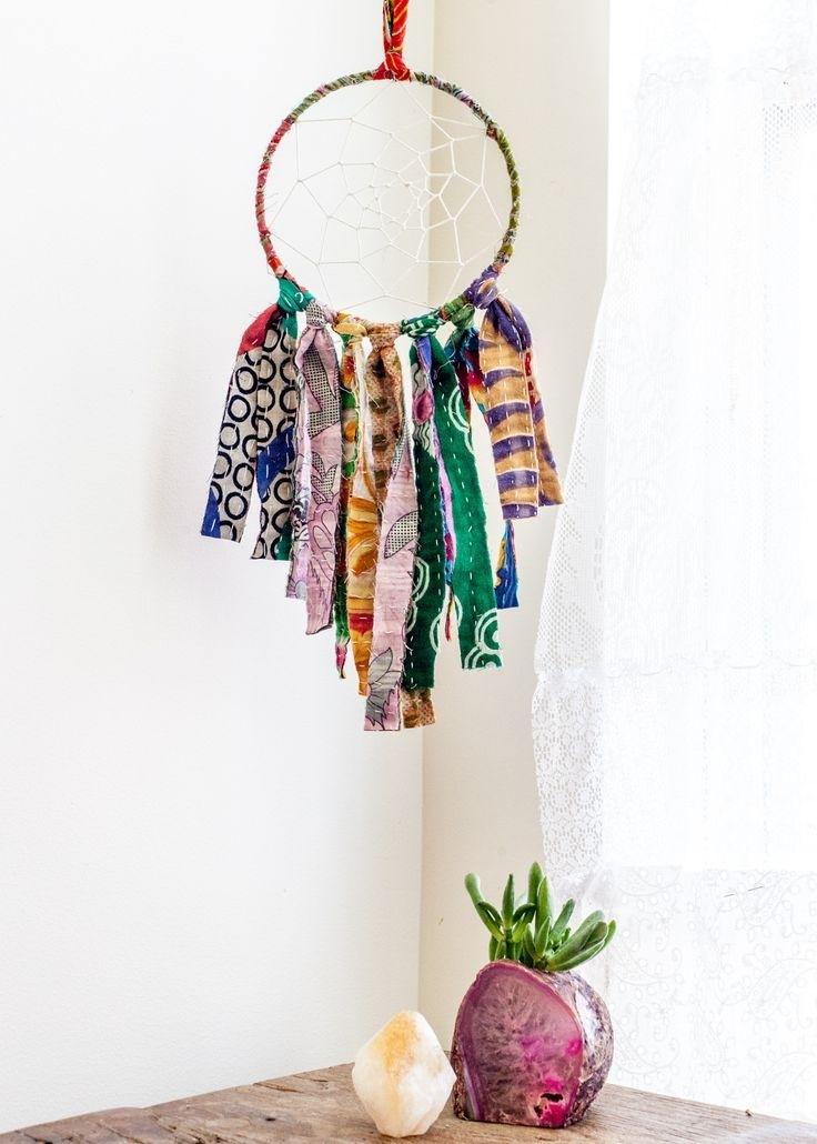 116 Best Dream Catcher Images On Pinterest | Dream Catcher, Dream Regarding Dreamcatcher Fabric Wall Art (Image 1 of 15)