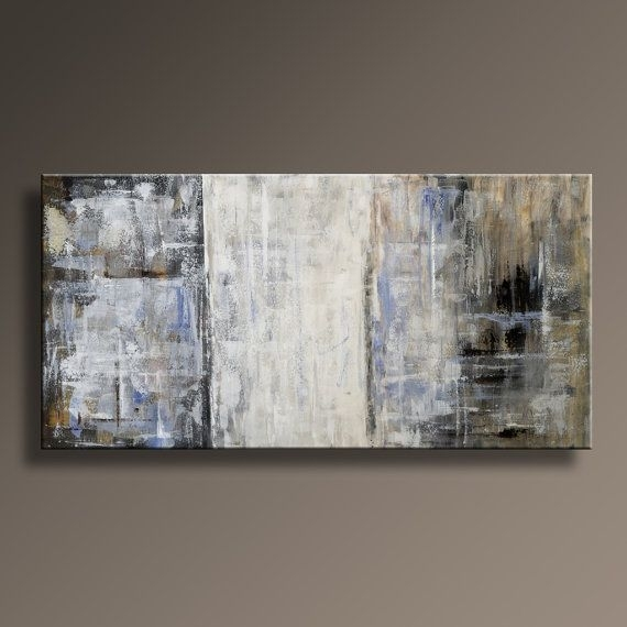 117 Best Abstract Painting Images On Pinterest Painting Abstract With Regard To Neutral Abstract Wall Art (View 12 of 15)