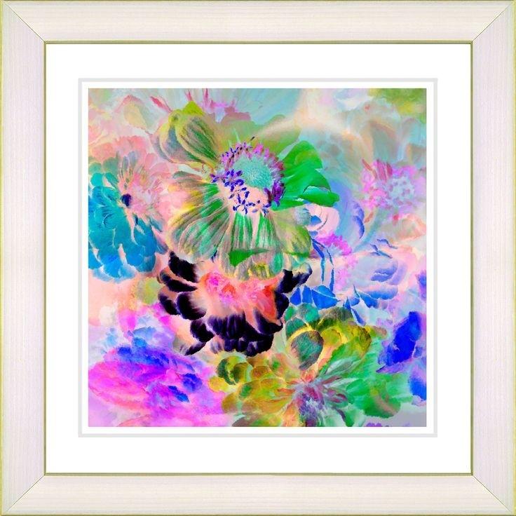 119 Best Art Frames Images On Pinterest | Framed Art, Framed Art Throughout Flowers Framed Art Prints (Image 1 of 15)