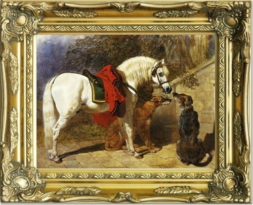 119 Best Equestrian Art Images On Pinterest | Horses, Horse And Throughout Famous Art Framed Prints (Image 1 of 15)