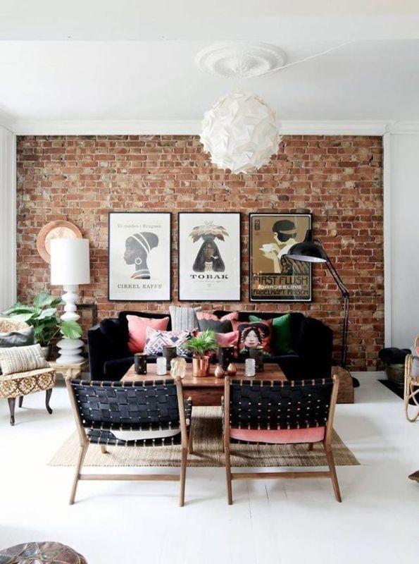 12 Exposed Brick Walls Ideas We Love | Wall Ideas, Bricks And inside Exposed Brick Wall Accents