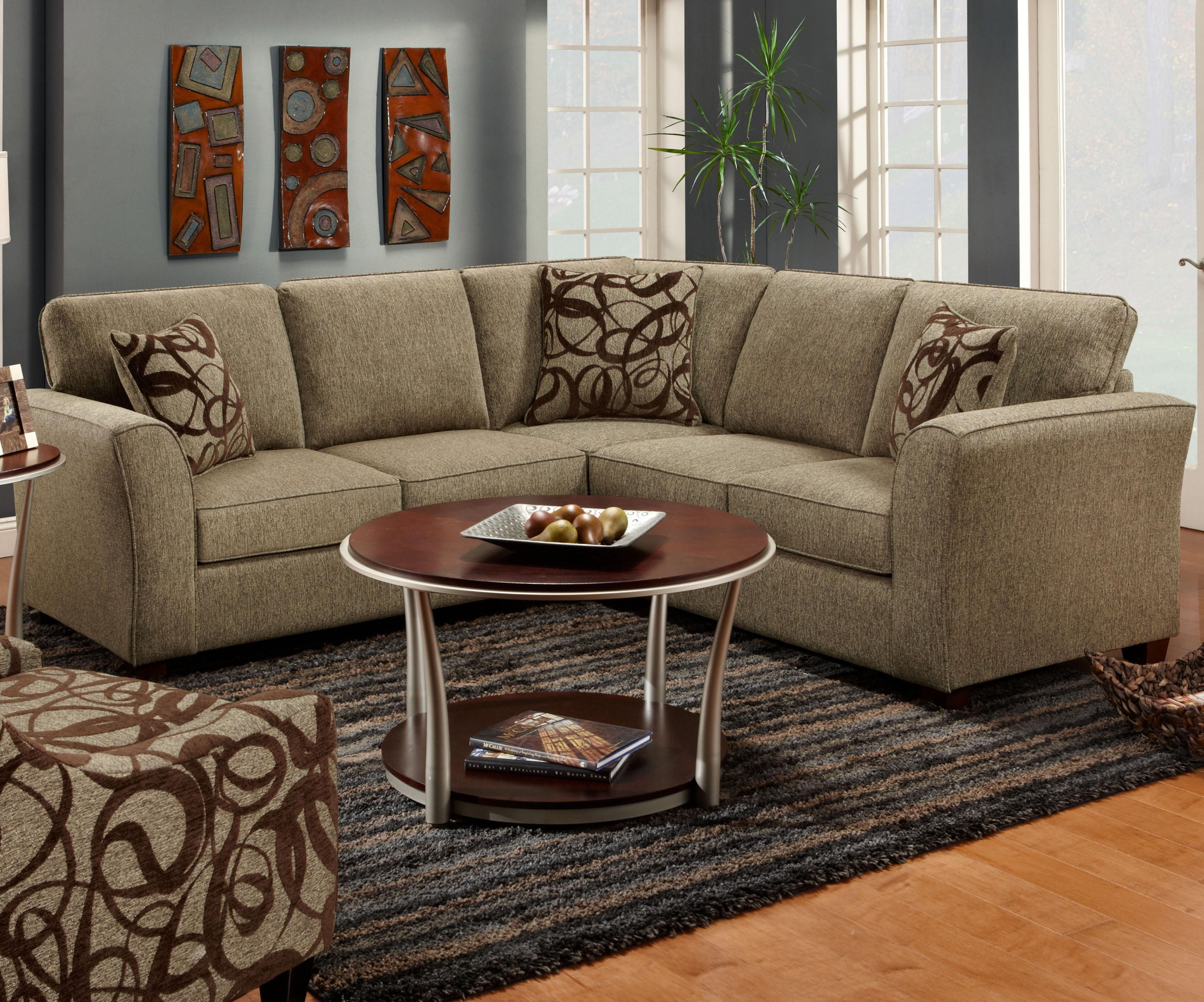 1295 1296 2 Piece Sectional Sofafusion Furniture | For The Home Within Jackson Ms Sectional Sofas (View 10 of 10)