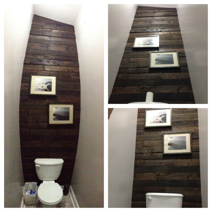 13 Best Bathroom Images On Pinterest   Bathrooms, Bathroom And Intended For Wall Accents Behind Toilet (Image 2 of 15)