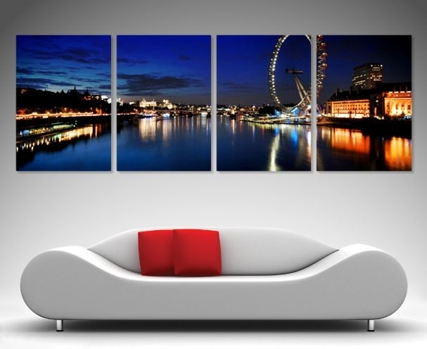 133 Best 4 Split Panel Wall Art Images On Pinterest | Framed Art Inside Brisbane Canvas Wall Art (Image 1 of 15)