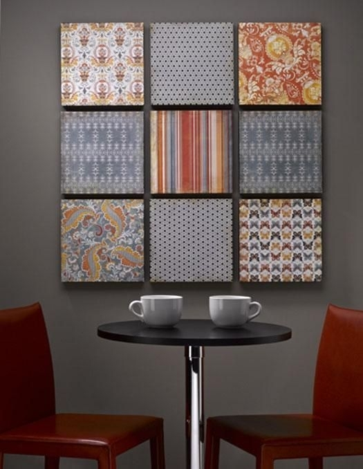 134 Best Styrofoam Images On Pinterest | Bedrooms, Creative Ideas Inside Styrofoam Fabric Wall Art (Image 2 of 15)