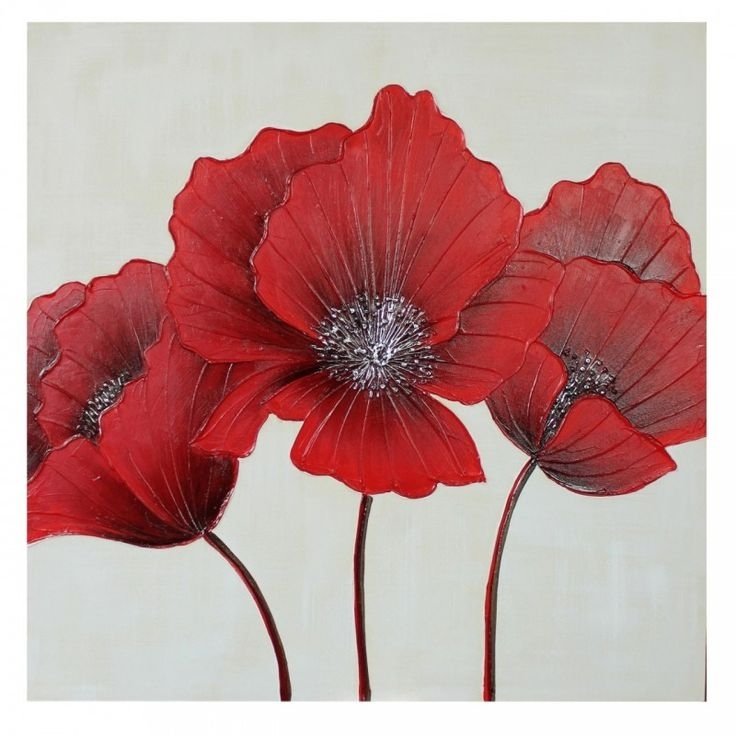 14 Best Canvas Art! Images On Pinterest | Art Walls, Canvas Art With Regard To Poppies Canvas Wall Art (View 6 of 15)