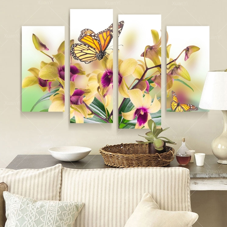 Featured Image of Butterflies Canvas Wall Art