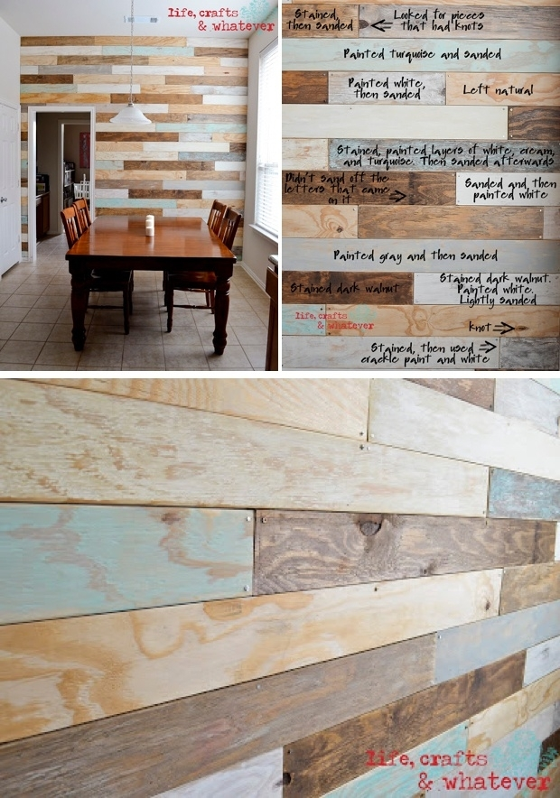 15 Beautiful Wood Accent Wall Ideas To Upgrade Your Space - Homelovr inside Wood Wall Accents