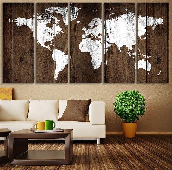 15+ Fantastic Rustic Wall Art Ideas | Rustic Interiors, Rustic Regarding Rustic Wall Accents (Image 2 of 15)