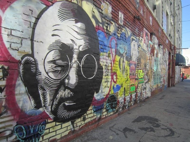 15 Graffiti Wall Art Of World Famous Personalities | Must See With Regard To Abstract Graffiti Wall Art (View 13 of 15)
