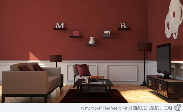 15 Mesmerizing Maroon Living Room Walls | Living Rooms, Room And Walls With Regard To Maroon Wall Accents (View 10 of 15)