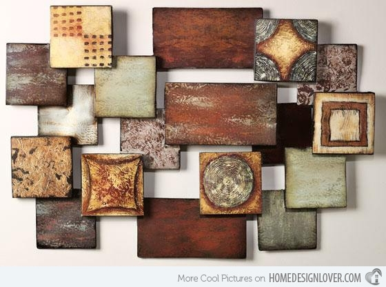 15 Modern And Contemporary Abstract Metal Wall Art Sculptures With Regard To Abstract Iron Wall Art (Image 2 of 15)