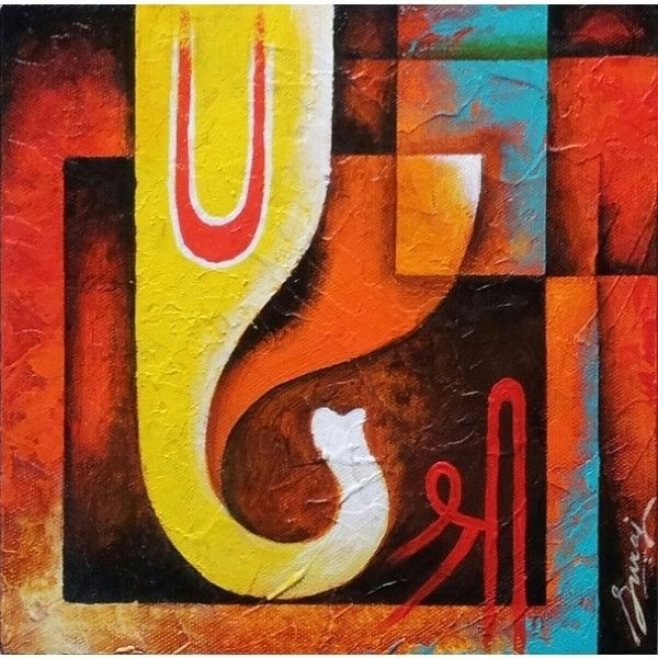 16 Best Ganesha Images On Pinterest | Ganesha Drawing, Ganesha In Abstract Ganesha Wall Art (View 9 of 15)