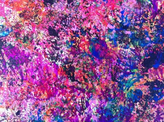 163 Best Original Artlaura Saint Cyr Images On Pinterest With Abstract Neon Wall Art (Image 3 of 15)
