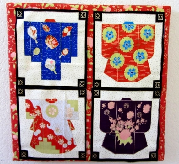 17 Best Whimzees Wallart Images On Pinterest | Wall Art Sets With Asian Fabric Wall Art (Image 3 of 15)