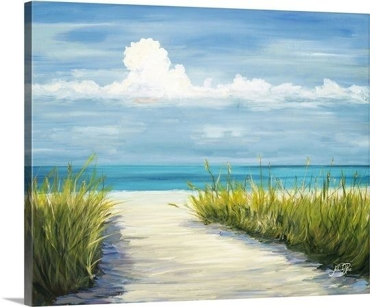 174 Best Beach And Coastal Art & Decor Images On Pinterest With Regard To Canvas Wall Art Beach Scenes (View 4 of 15)