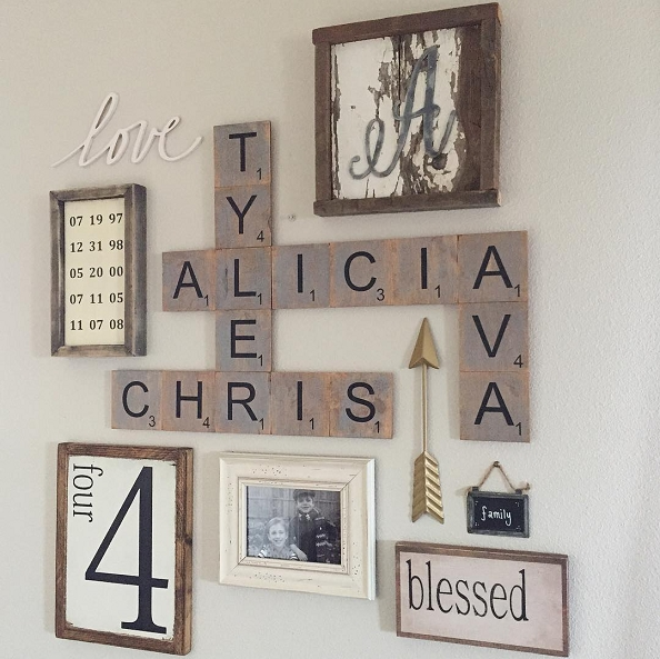 18 Rustic Wall Decor Ideas To Turn Shabby Into Fabulous | Rustic In Rustic Wall Accents (Image 3 of 15)