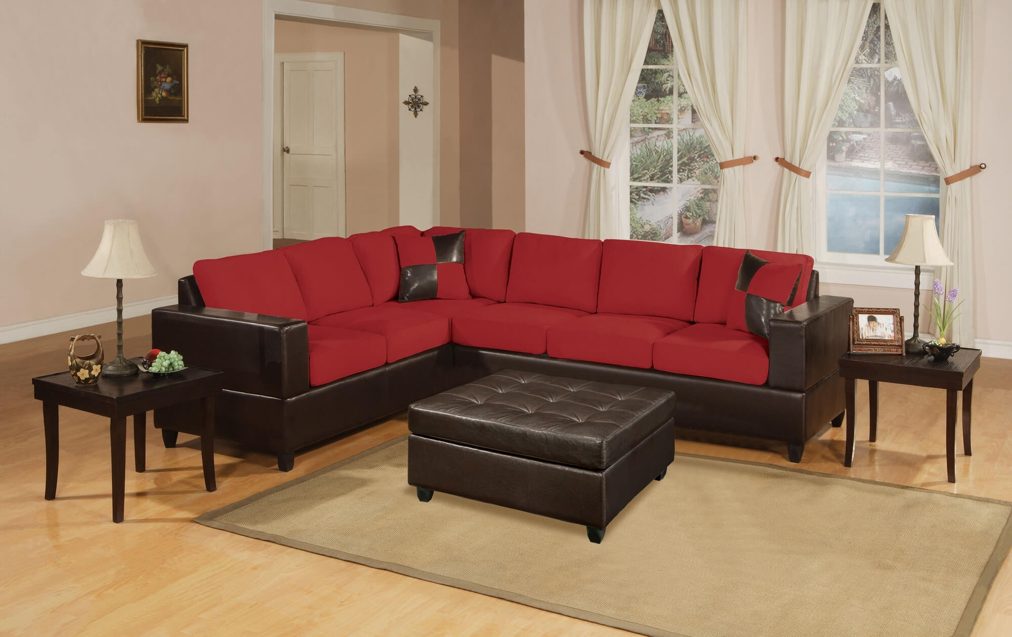 18 Stylish Modern Red Sectional Sofas intended for Red Sectional Sofas