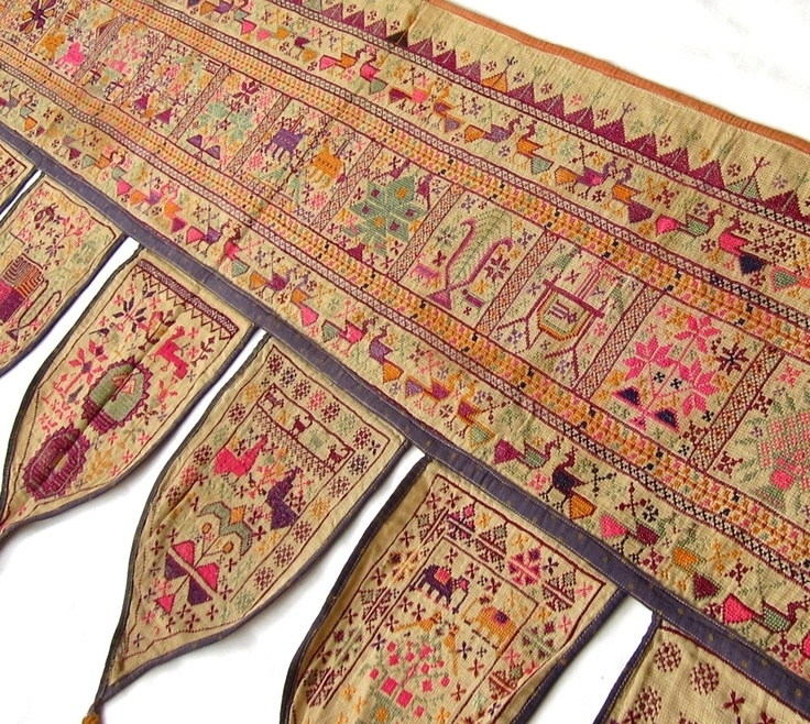 181 Best Art: Indian Images On Pinterest | Indian Art, Indian Inside Indian Fabric Art Wall Hangings (Image 2 of 15)
