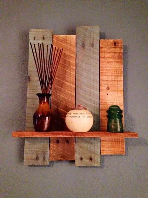 19 Diy Wall Decoration Ideas | Diy Wall Decorations, Pallet Wall Pertaining To Wall Accents Made From Pallets (Image 3 of 15)