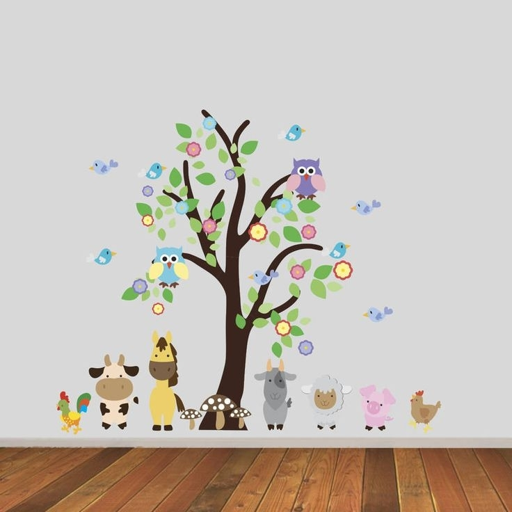 192 Best Deco ✿ Wall Decals Images On Pinterest | Wall Decals for Fabric Tree Wall Art