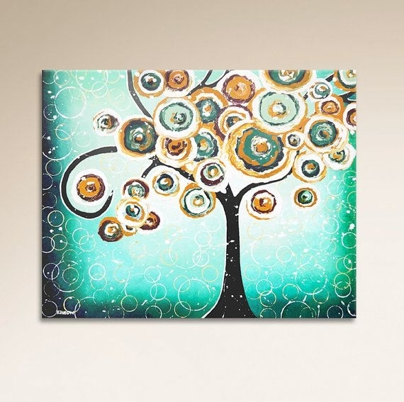 192 Best Etsy Images On Pinterest | Quirky Art, Whimsical Art And Intended For Quirky Canvas Wall Art (Image 2 of 15)