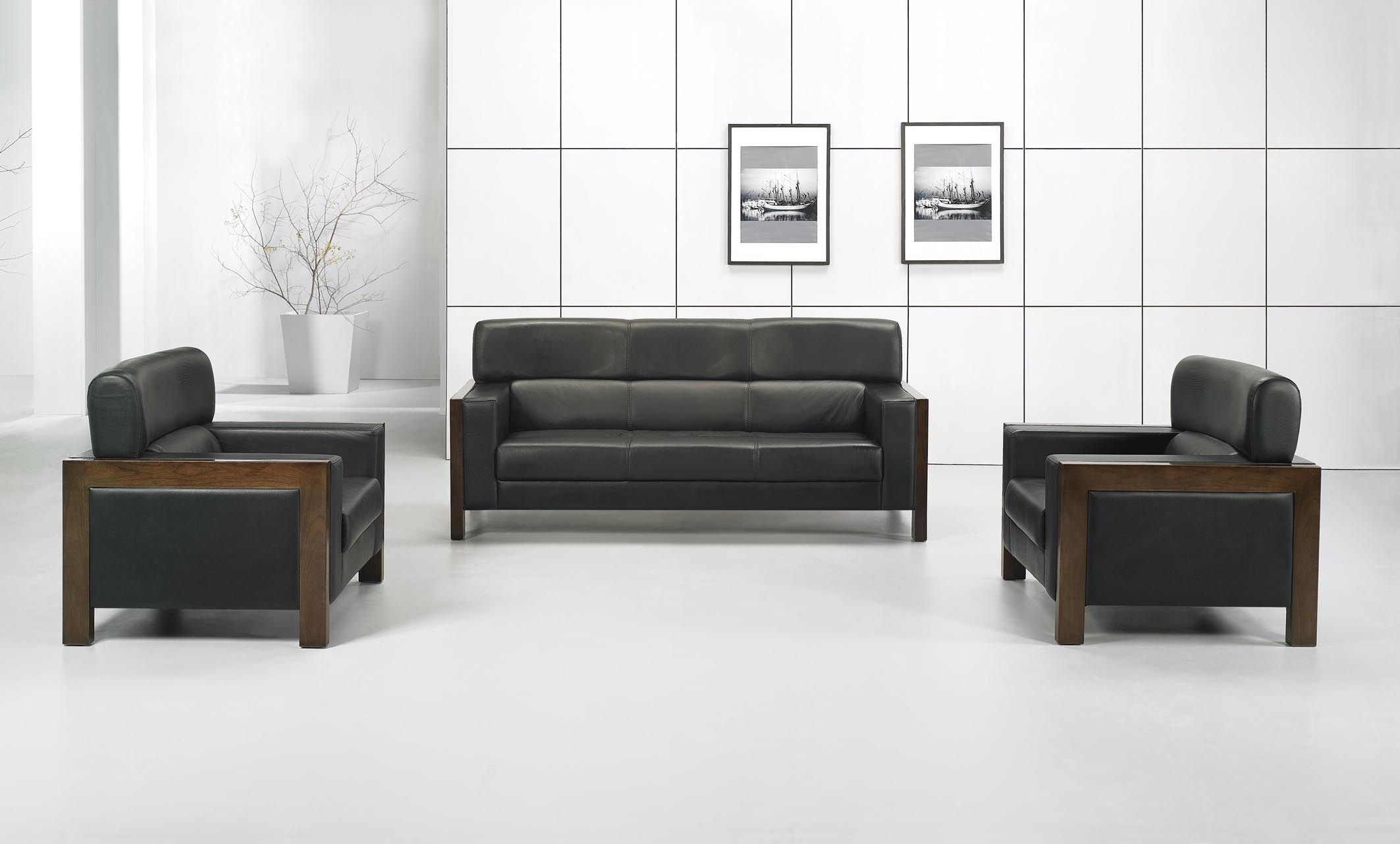 2 Sofa For Office | Carehouse With Regard To Office Sofas (Image 1 of 10)