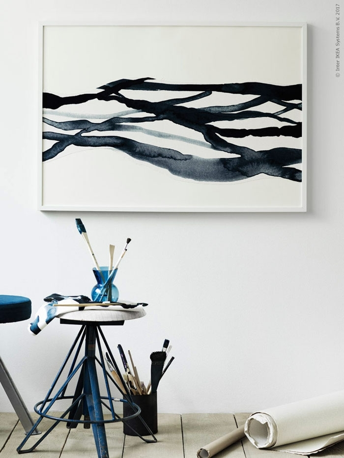20 Art Diy Ideas Like An Ikea Stylist | Poppytalk Within Ikea Fabric Wall Art (View 3 of 15)