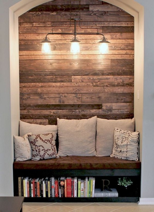 20 Rustic Diy Home Decor Ideas To Create Warmth At Home In 2016 Regarding Wooden Wall Accents (Image 3 of 15)