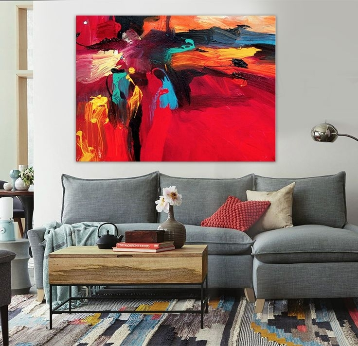 213 Best Abstract Art Images On Pinterest | Art Walls, Canvas Art Within Abstract Office Wall Art (View 7 of 15)