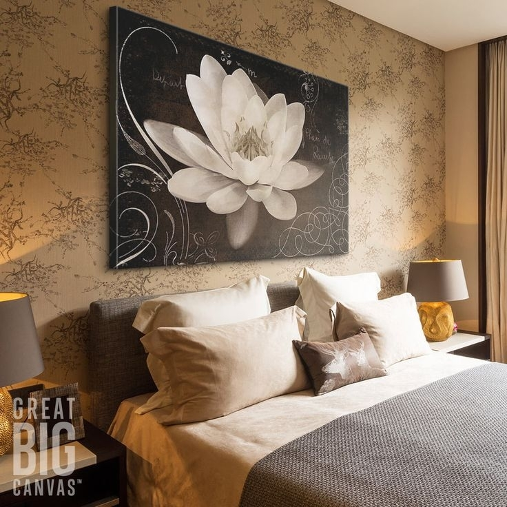 213 Best Floral & Botanical Art Images On Pinterest | Acrylic Art For Canvas Wall Art Of Flowers (View 14 of 15)