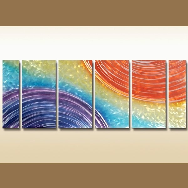 219 Best Multi Canvas Wall Art Sets Images On Pinterest | Canvas Throughout Rainbow Canvas Wall Art (Image 1 of 15)