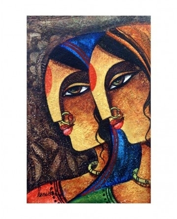229 Best Indian Art Images On Pinterest | Pillowcases, Cushion Intended For India Abstract Wall Art (View 13 of 15)